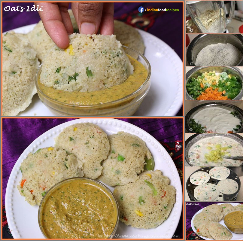 Oats idli recipe step by step