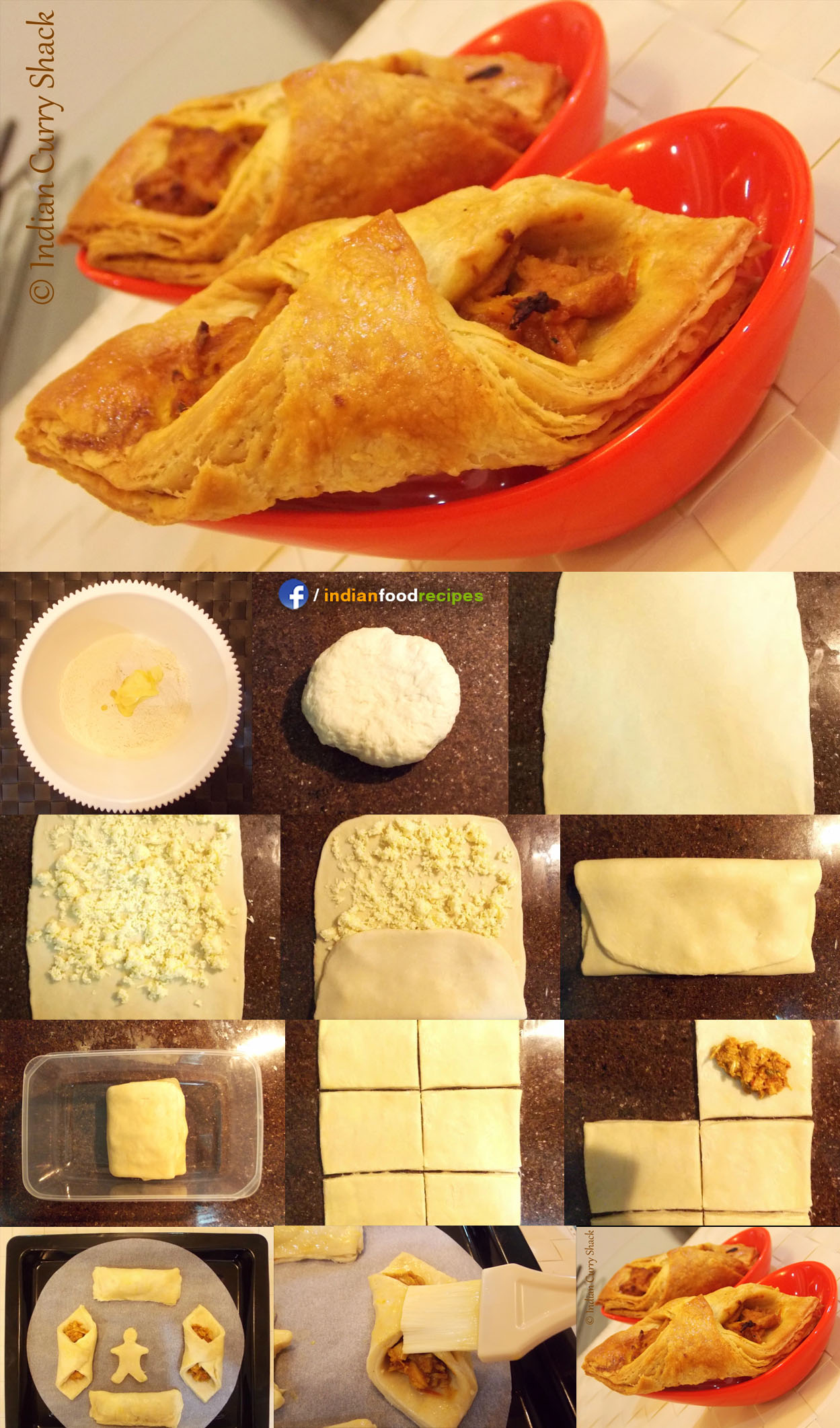 Puff Pastry recipe step by step