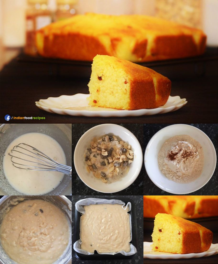 Semolina Coconut Cake recipe step by step