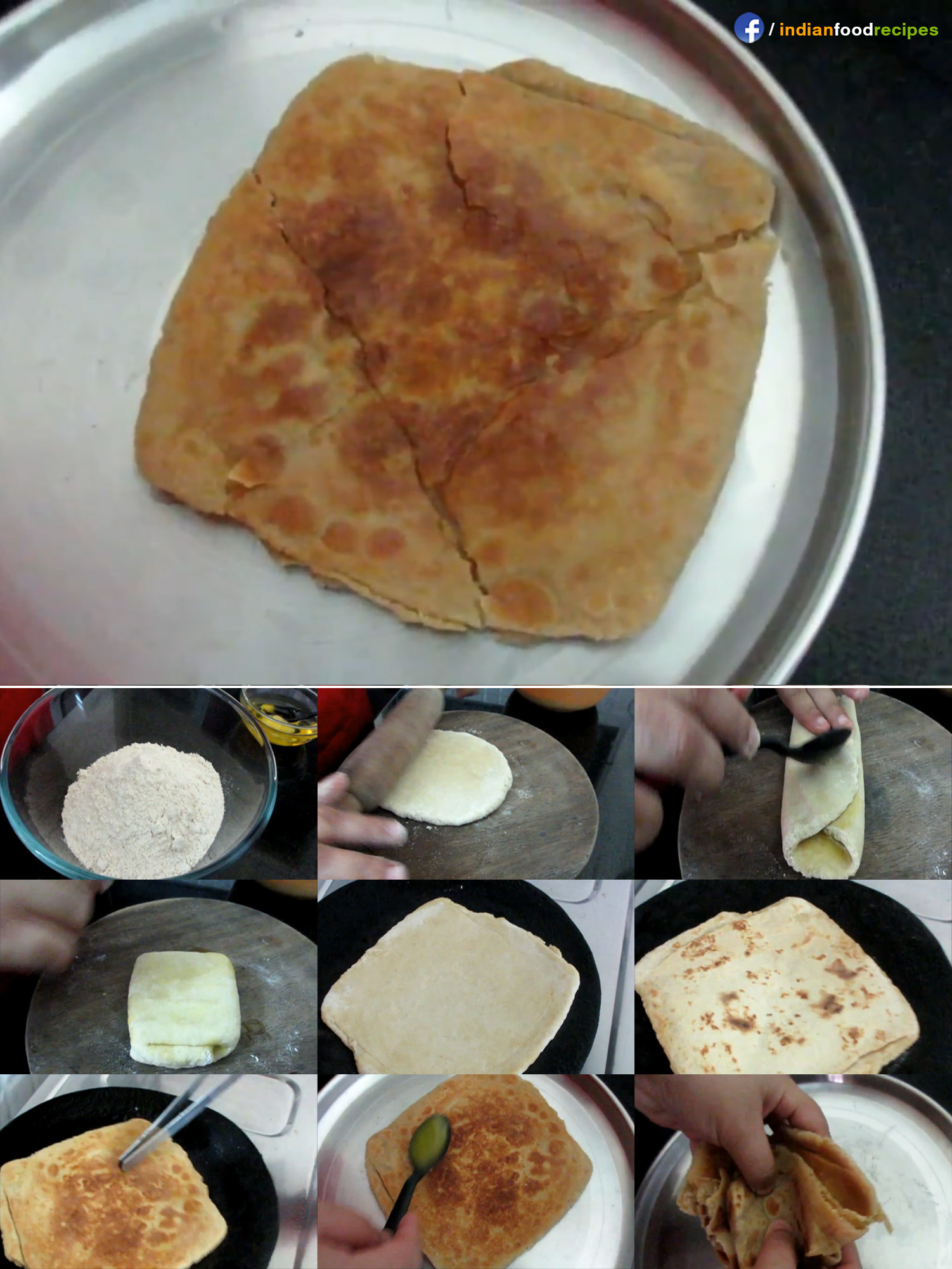 Batia Rajasthani Roti recipe step by step