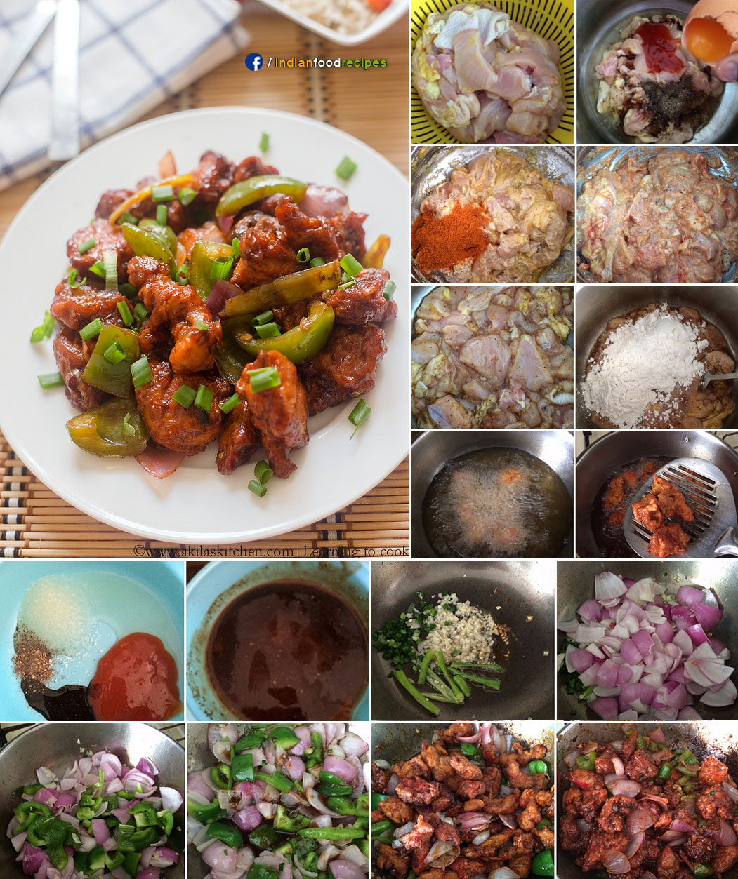 Chilli chicken restaurant style recipe step by step