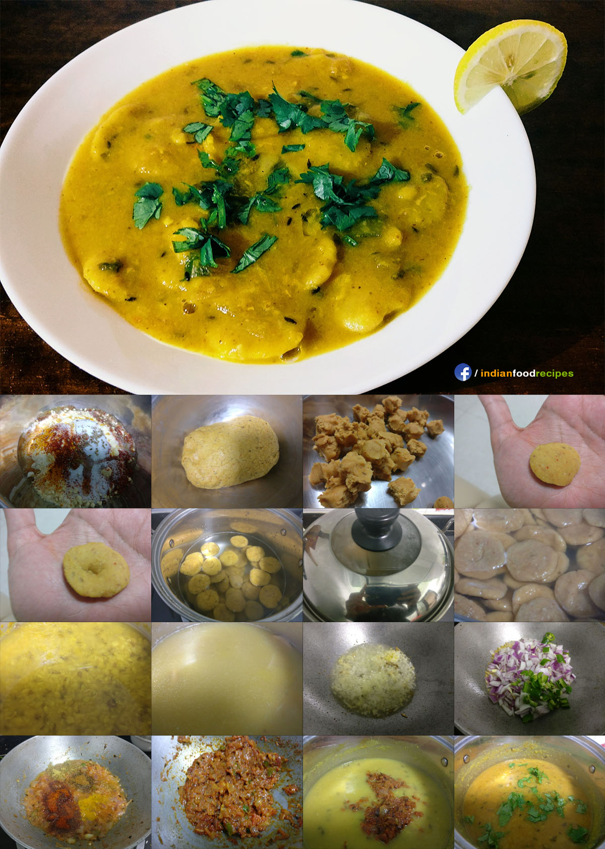 Dal Dhokli recipe step by step