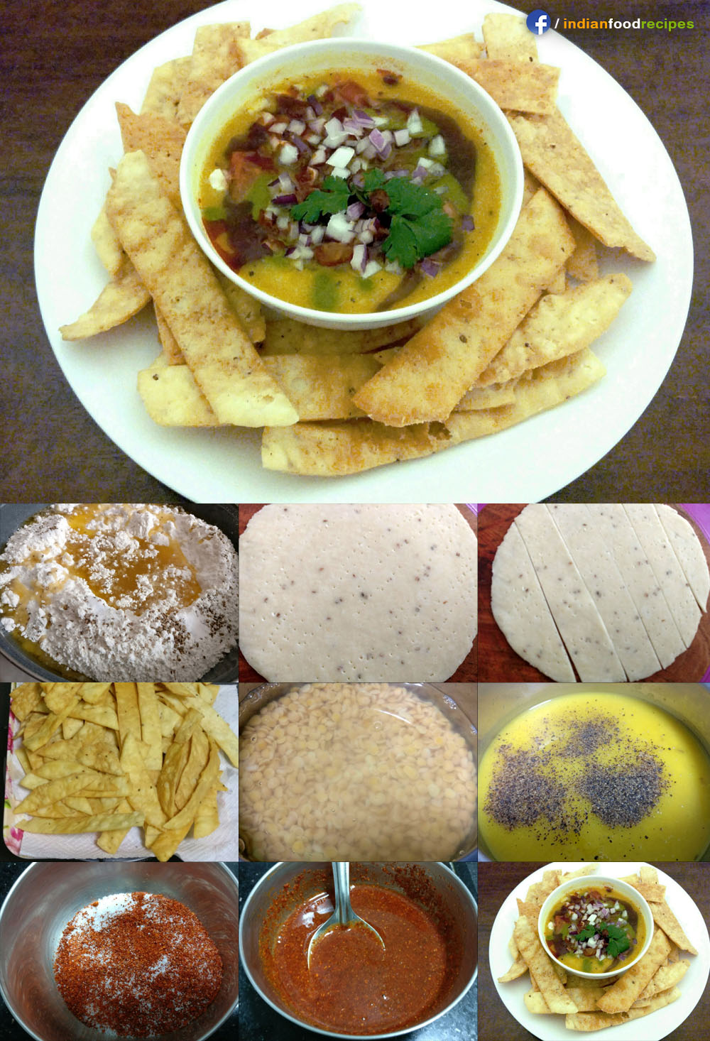 Dal Pakwan recipe step by step