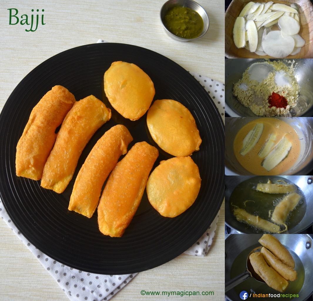 Easy Bajji Recipe – Vazhakkai Bajji – Aloo Bajji recipe step by step