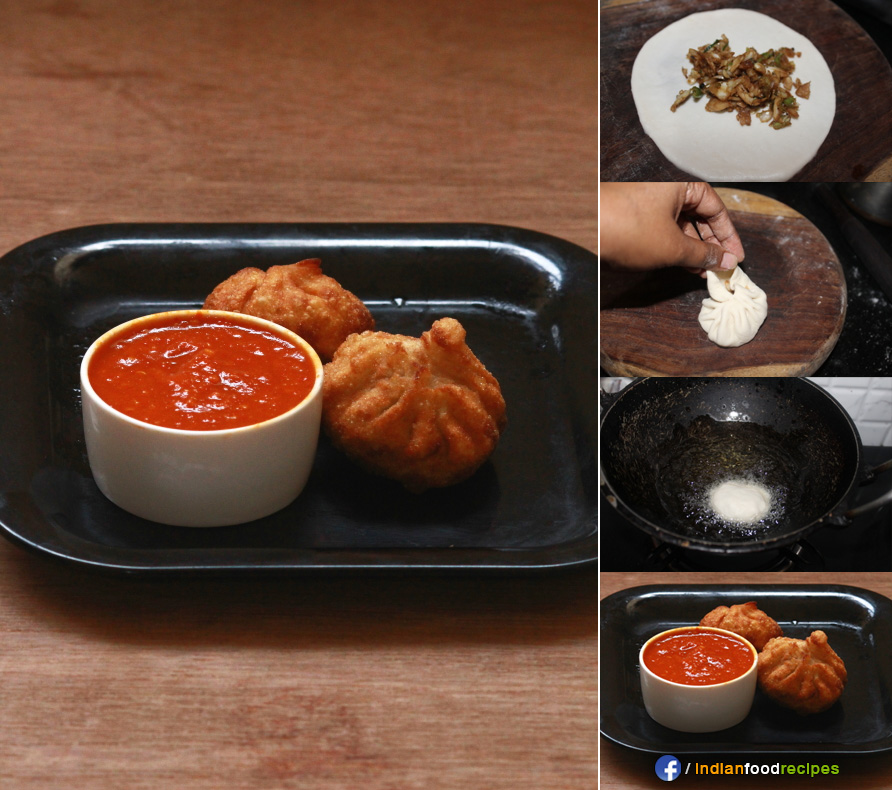 Fried Momos recipes step by step