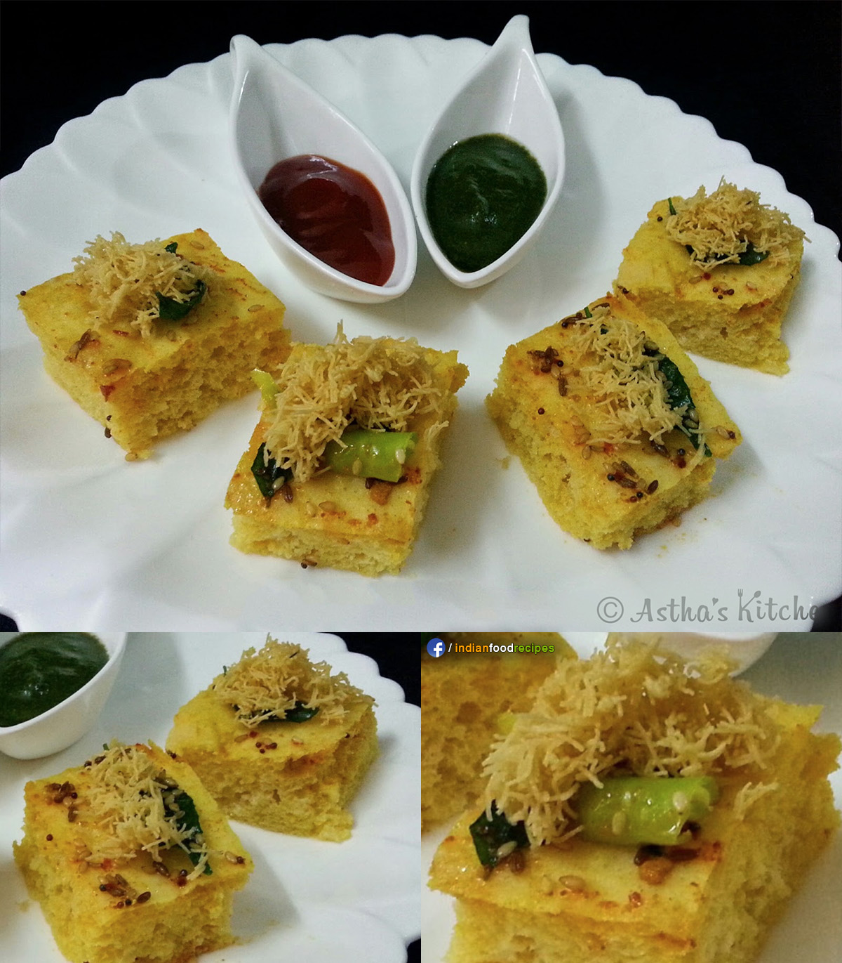 Khaman Dhokla recipe step by step