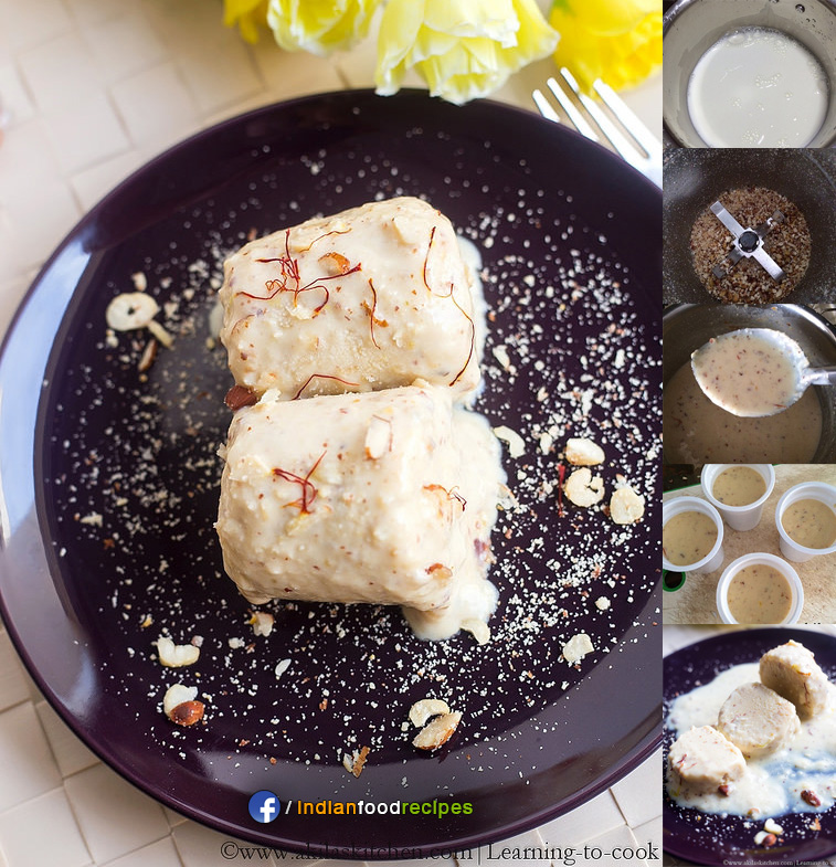 Khoya Kulfi ice cream recipe step by step