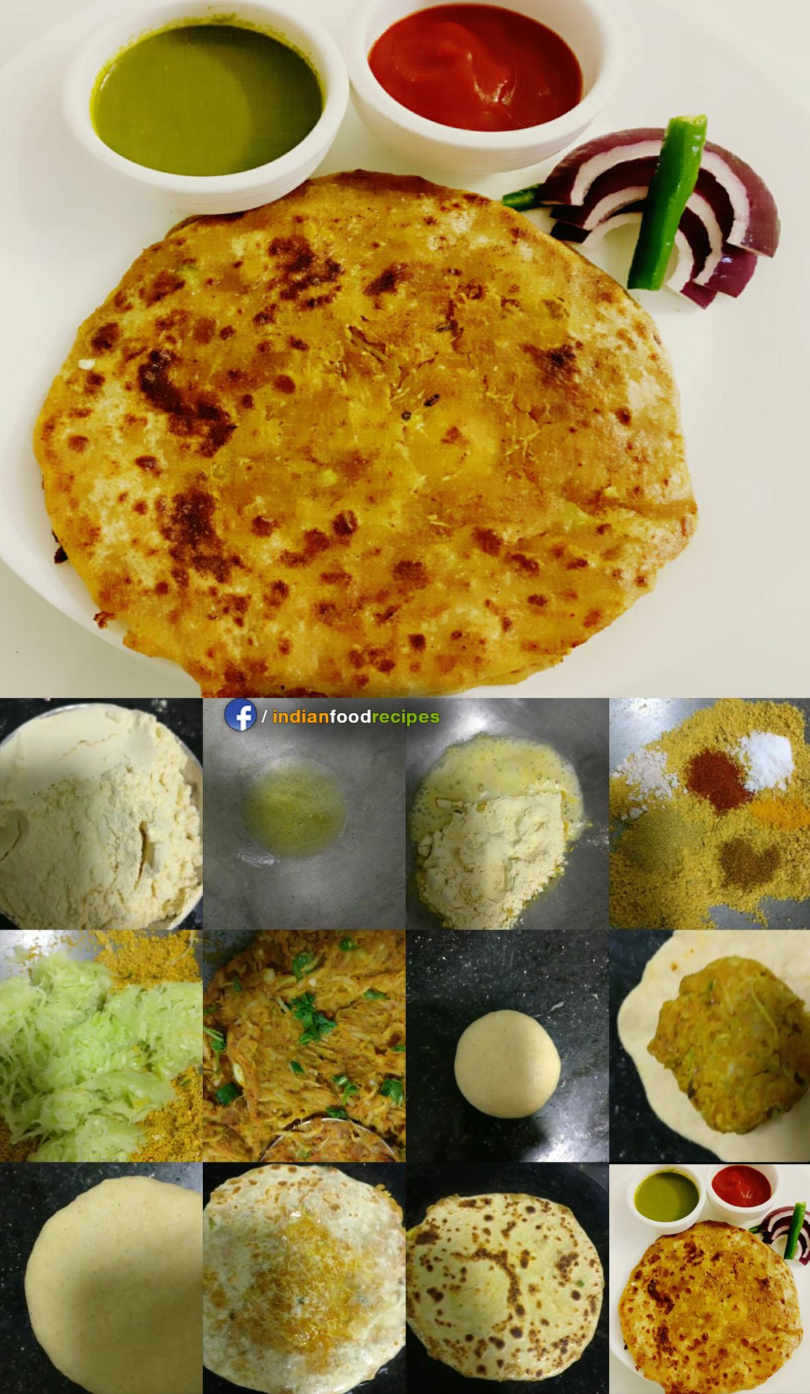 Lauki paratha recipe step by step