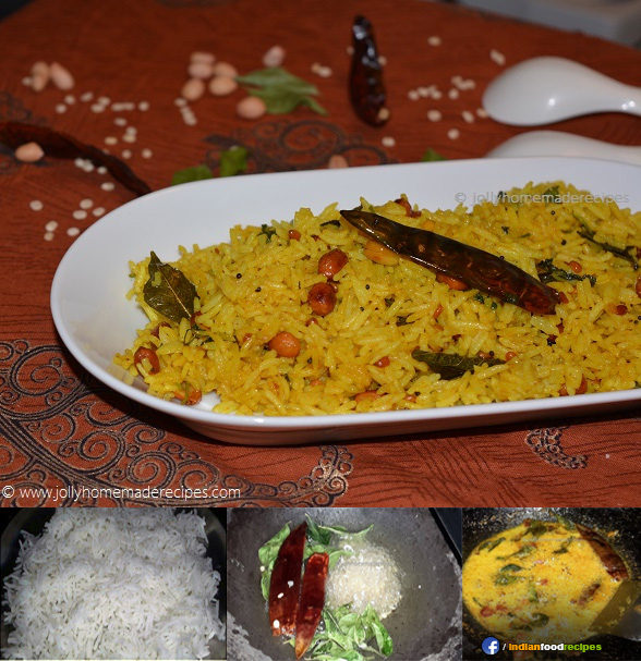 Lemon Rice recipe step by step