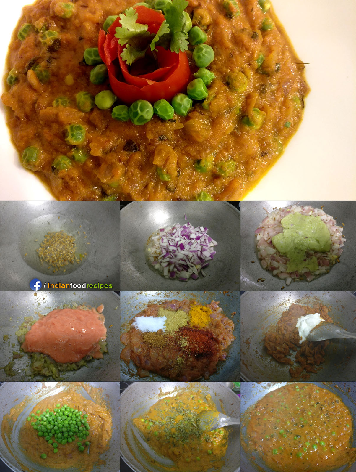 Matar do pyaza recipe step by step
