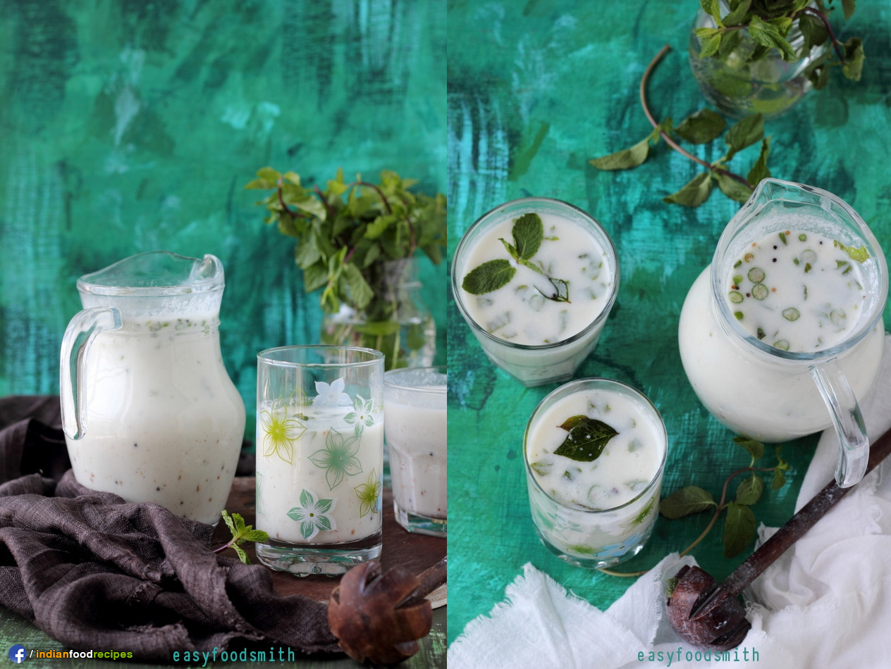 Neer Mor / Chaas / Lassi recipe step by step