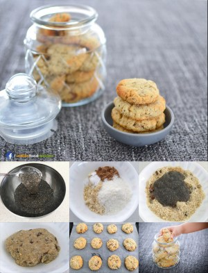 Almond Coconut Cookies Recipe Step By Pictures