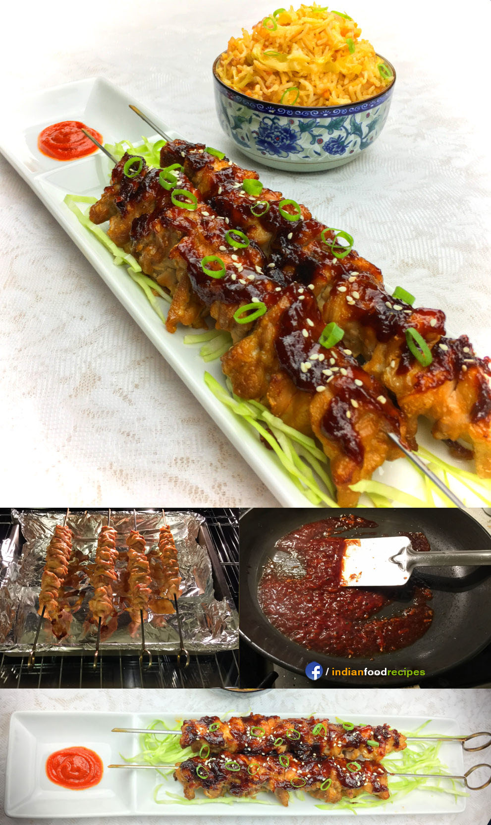 Baked Teriyaki Chicken (Indo-Japanese) recipe step by step pictures