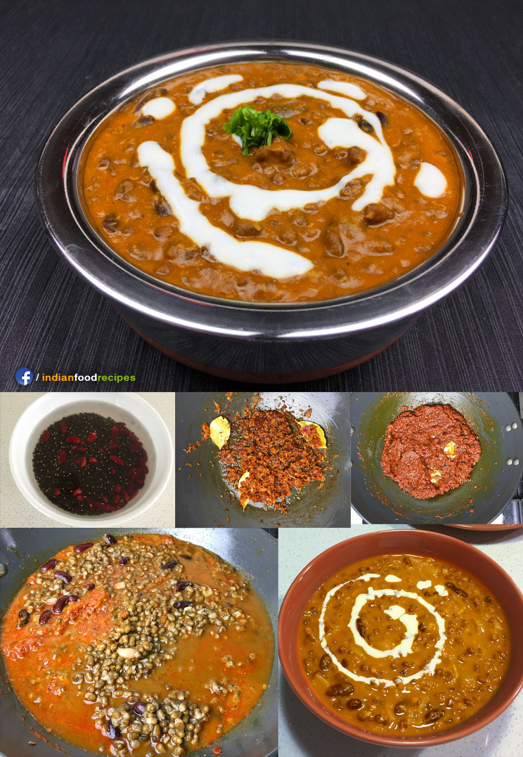 Dal Makhani recipe step by step pictures