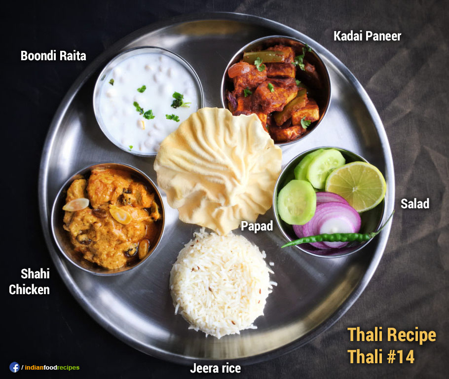 Home-made Thali #14 recipe step by step pictures