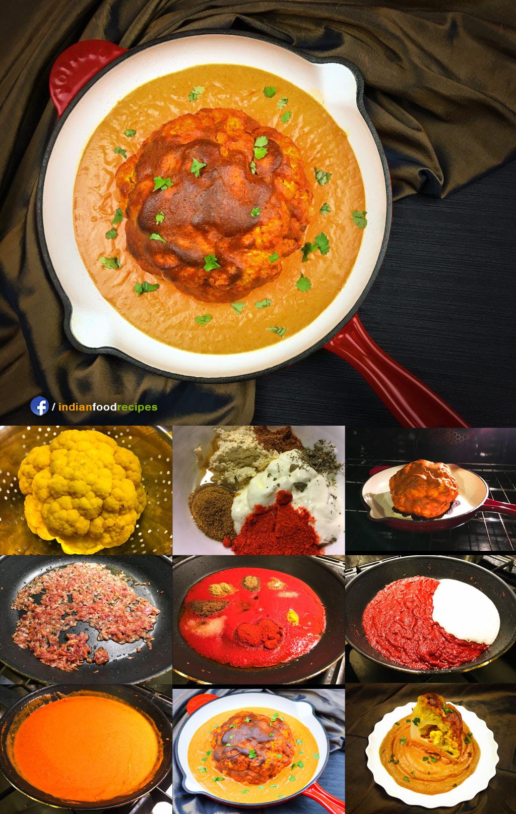 Shahi Gobi Mussallam (Mughlai Cuisine) recipe step by step pictures