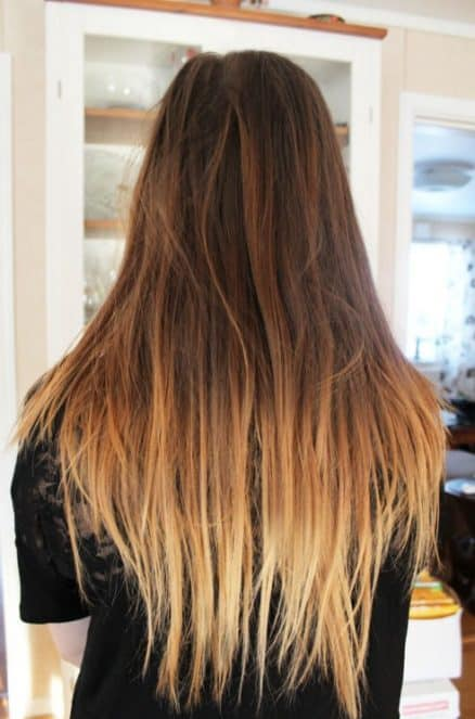 brown to light brown ombre hair - 6 ways to dress like a German Girl in Winter