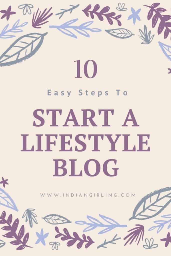 Start a Travel and Lifestyle Blog