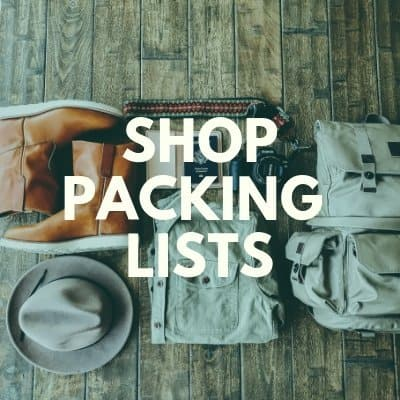 Shop Packing Lists