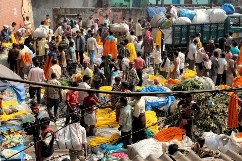 Malik Ghatflower Market
