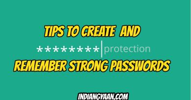 Remember strong password