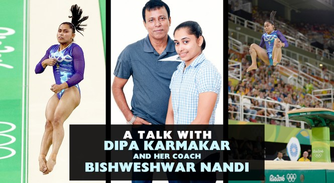 A Talk with Dipa Karmakar and her coach Bishweshwar Nandi