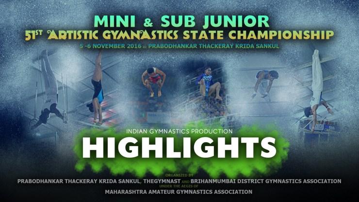 HIGHLIGHTS | 51st Mini & Sub Jr. Maharashtra State Championship 2016