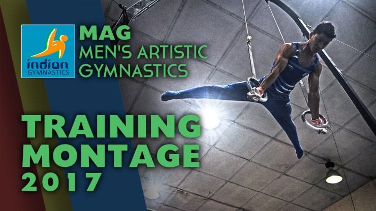 Men's Gymnastics Training Montage 2017