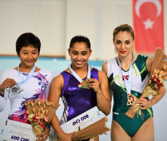 Historic gold for Dipa, Rakesh Finished 4th | FIG World Cup, Turkey