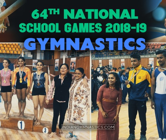 64th National School Games 2018 -19 | Gymnastics Results
