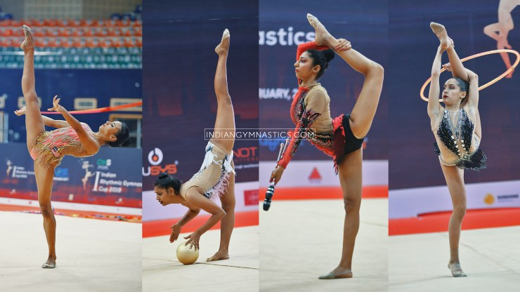 1st Indian Rhythmic Gymnastic Cup 2019 | Results