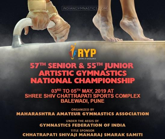 RYP 57th Senior & 55th Junior Artistic Gymnastics National Championship