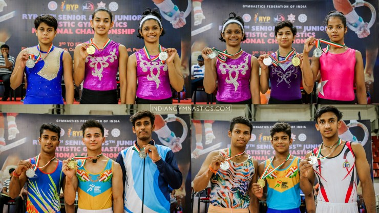 Junior Boys and Girls Individual Apparatus Final | RYP 57th Sr. and 55th Jr. Artistic Gymnastics National Championship 2019