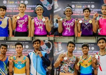 Junior Boys and Girls Individual Apparatus Final | RYP 57th Sr. and 55th Jr. Artistic Gymnastics National Championship 2019