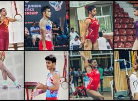 Indian Team for 8th Senior Artistic Gymnastics Asian Championship 2019