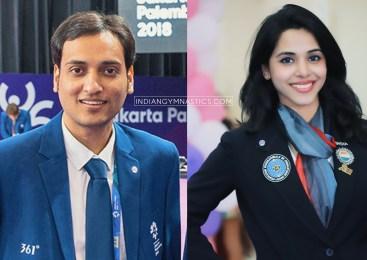 Deepak Kabra and Akshata Shete acting as a Superior Jury for Asian Championships 2019