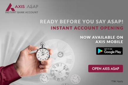 AXIS ASAP SAVINGS ACCOUNT KEY FEATURES