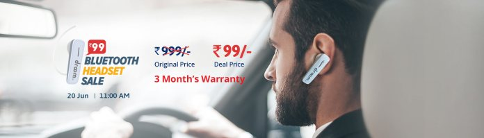 Droom Bluetooth Headset Next Sale Date