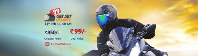 Droom Helmet Next Sale Date: Get Helmet At Rs.99
