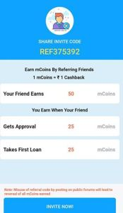 Share Your mPokkt Referral Code | Invite & Earn Rs.50