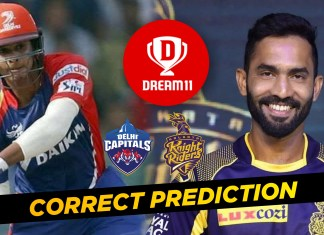 IPL 2019 10th Match: DC vs KKR Dream11 Team Prediction & Playing XI