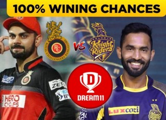 KKR vs RCB Best Dream11 Team