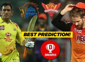 IPL 2019, 39th Match: SRH vs CSK Dream11 Prediction Today Team News