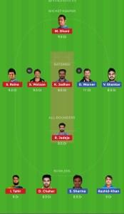 CSK vs SRH Best Dream11 Team Today