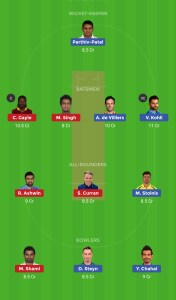 CSK vs SRH Best Dream11 Team Today 1