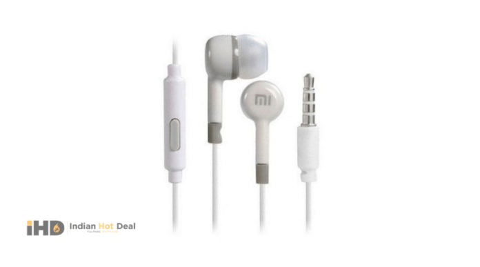 Xiaomi MI Original In-Ear Wired Earphones With Mic
