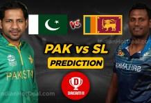 PAK vs SL 3rd T20 Dream11 Team Predictions Today Match 100% Winning