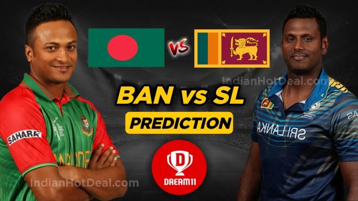 SL vs BAN First ODI: Dream11 Prediction Today