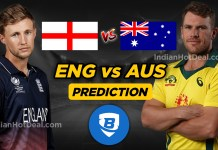 ICC WC 2019, Semi-Final 1 : ENG vs AUS Ballebaazi Team Prediction Today