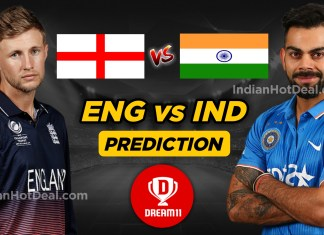 ENG vs IND Dream11 Team Prediction Today- ICC WC 2019, 38th Match